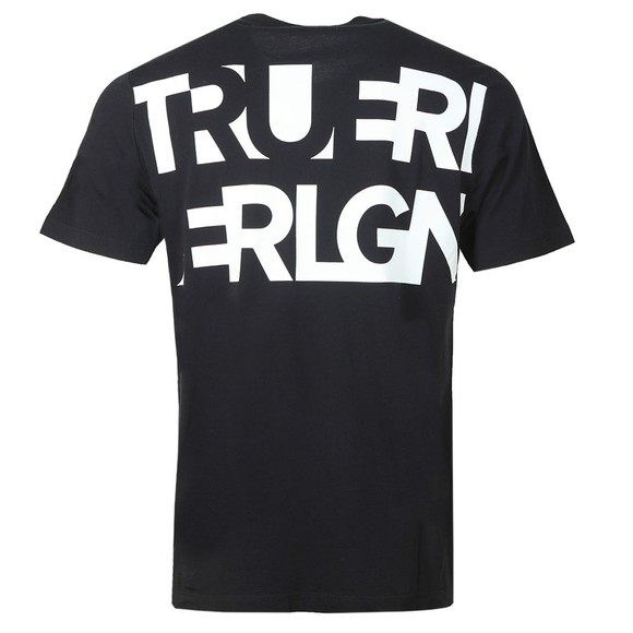 True Religion Mens Black Crew Neck T-Shirt main image