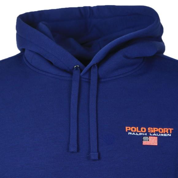 Polo Sport Ralph Lauren Mens Blue Logo Overhead Hoody