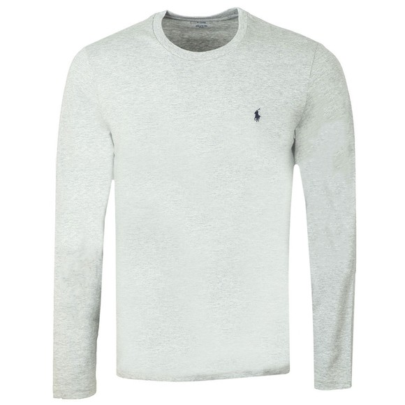 Polo Ralph Lauren Mens Grey Long Sleeve Sleep Crew Neck T-Shirt