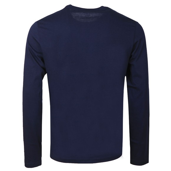 Polo Ralph Lauren Mens Blue Long Sleeve Sleep Crew Neck T-Shirt main image