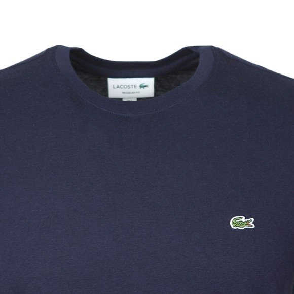 Lacoste Mens Blue TH2038 Plain T-Shirt main image