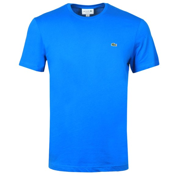 Lacoste Mens Blue TH2038 Plain T-Shirt