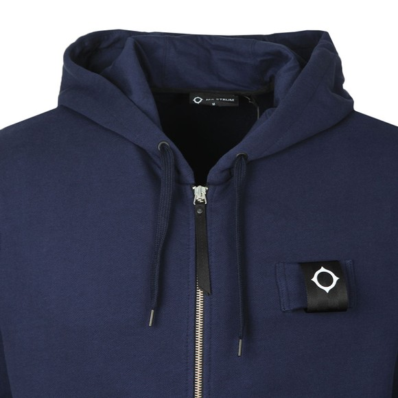 Ma.Strum Mens Blue Training Full Zip Hoody