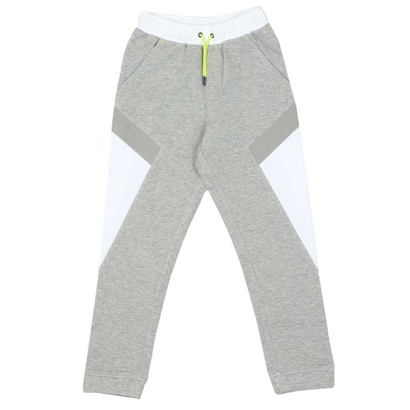 BOSS Boys Grey Side Panel Joggers