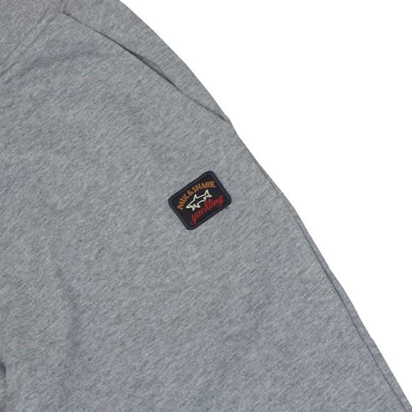 Paul & Shark Mens Grey Logo Sweatpant