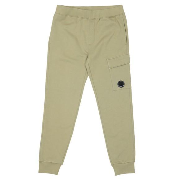 C.P. Company Mens Green Viewfinder Pocket Jogger