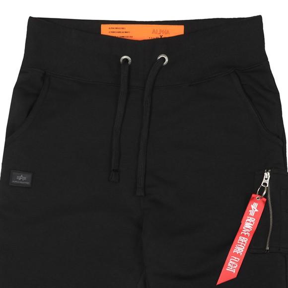 Alpha Industries Mens Black Slim Cargo Pant main image