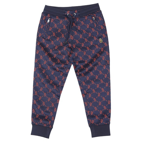 Luke Sport Boys Blue Golden Balls JNR Joggers
