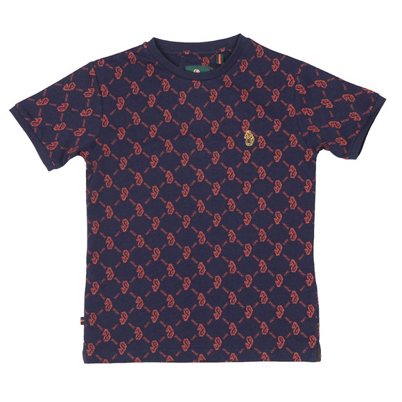 Luke Sport Boys Blue Great Irons T-Shirt main image