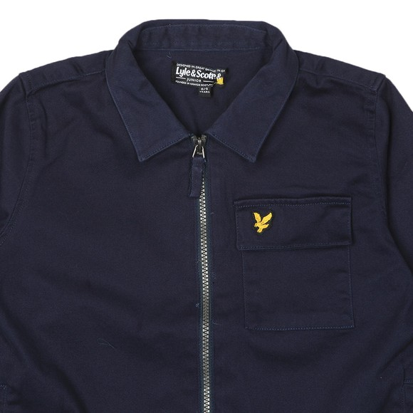 Lyle And Scott Junior Boys Blue Overshirt