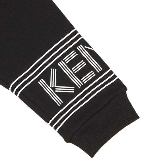 Kenzo Kids Boys Black Sport Line Logo Jogger