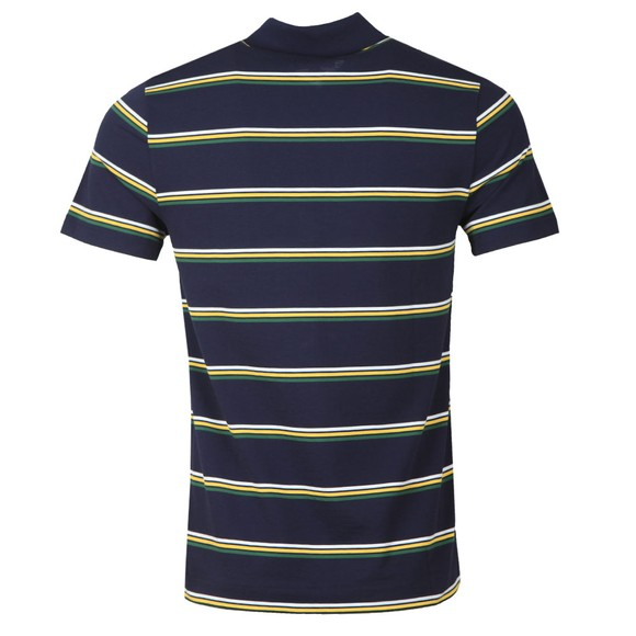 Lacoste Sport Mens Blue YH1492 Striped Polo Shirt main image