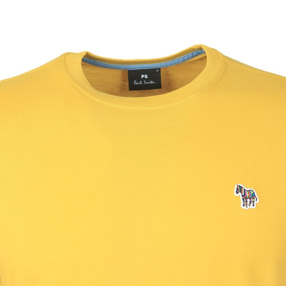 PS Paul Smith Mens Yellow Zebra T-Shirt