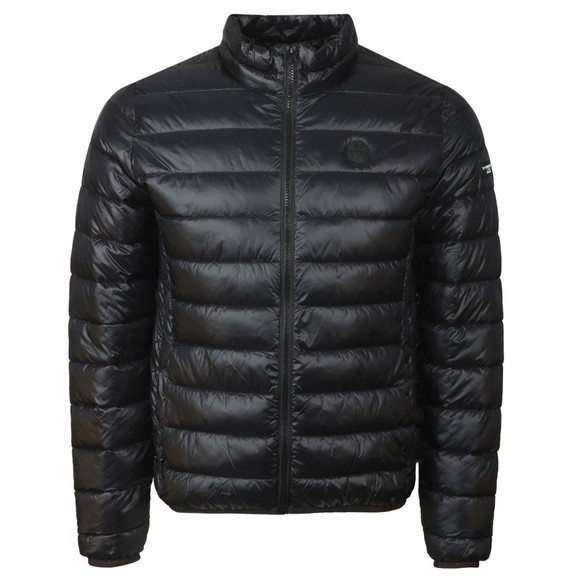 North Sails 36th Americas Cup presented by PRADA Mens Black Wellington Harbour Puffer Jacket
