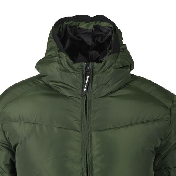 Marshall Artist Mens Green Paninaro Bubble Jacket