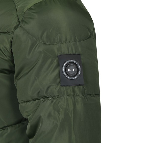 Marshall Artist Mens Green Paninaro Bubble Jacket main image