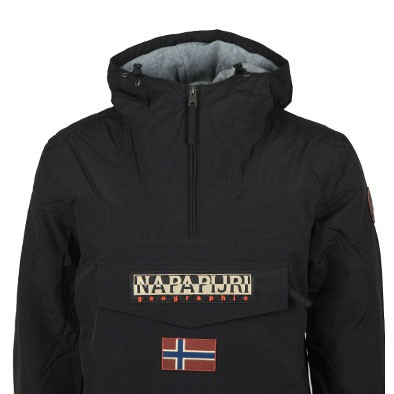 Napapijri Mens Black Rainforest Winter 2 Jacket main image