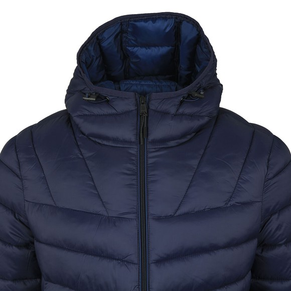Napapijri Mens Blue Aerons Hooded Jacket
