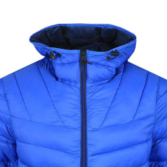 Napapijri Mens Blue Aerons Hooded Jacket
