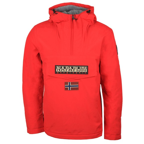 Napapijri Mens Red Rainforest Winter 2 Jacket