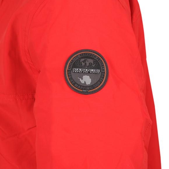Napapijri Mens Red Rainforest Winter 2 Jacket main image