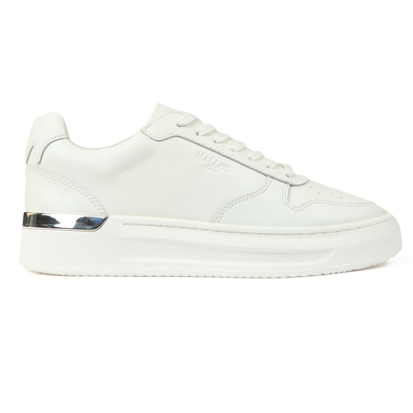 Mallet Womens White W Hoxton Trainer