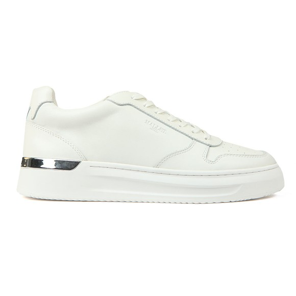 Mallet Mens White Hoxton Trainer