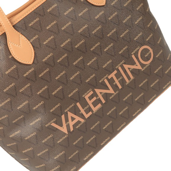 Valentino by Mario Womens Brown Liuto Tote Bag main image
