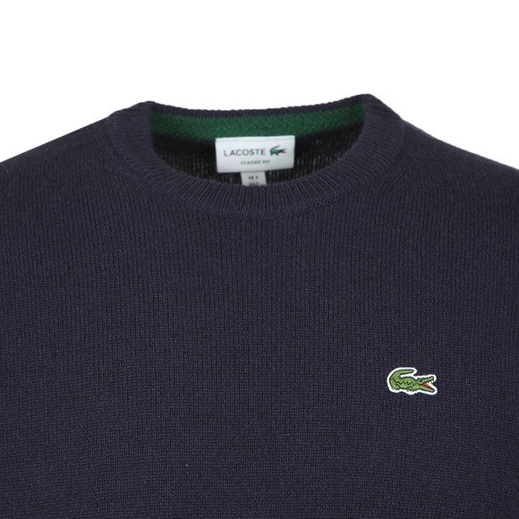 Lacoste Mens Blue AH1988 Jumper