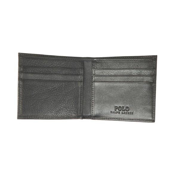 Polo Ralph Lauren Mens Black EU Billfold Wallet main image