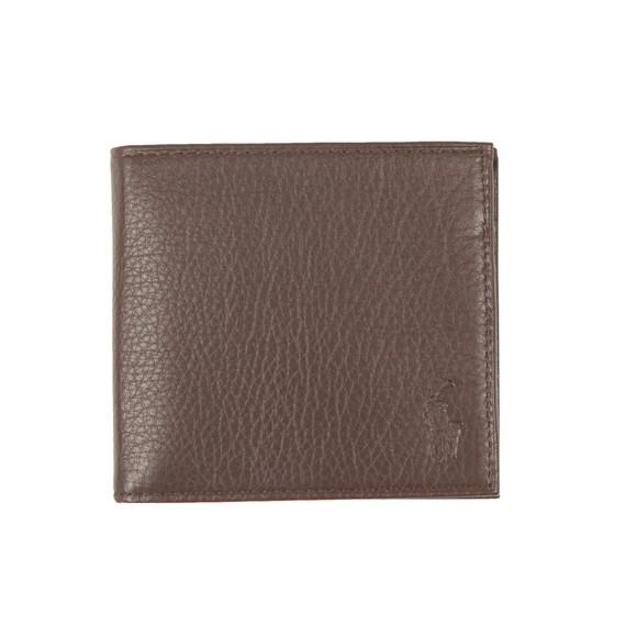 Polo Ralph Lauren Mens Brown EU Billfold Wallet