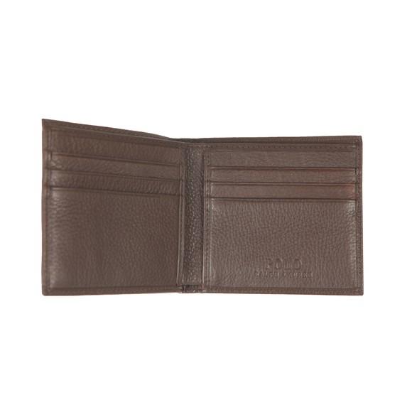 Polo Ralph Lauren Mens Brown EU Billfold Wallet main image