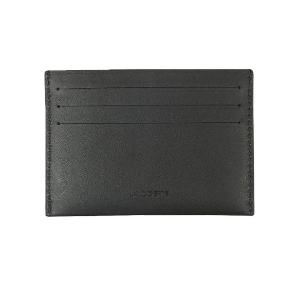 Lacoste Mens Black Credit Card Holder
