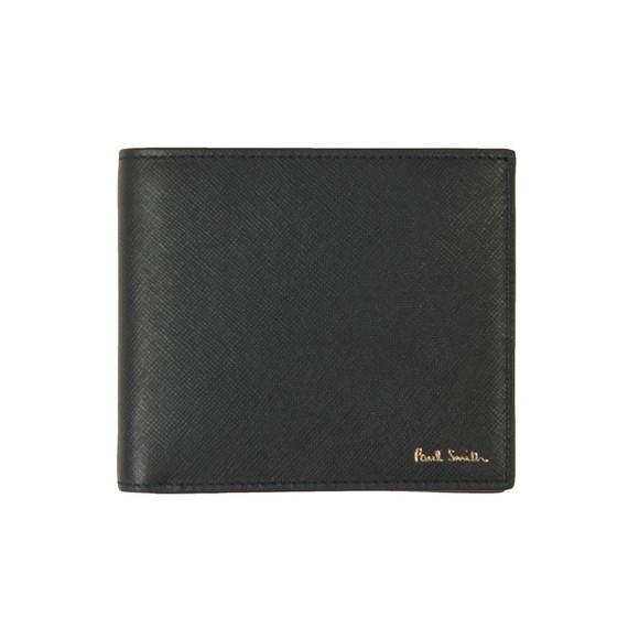 Paul Smith Mens Black Racing Mini Print Wallet