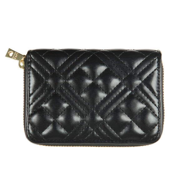 Love Moschino Womens Black Small Cross Quilted Purse main image