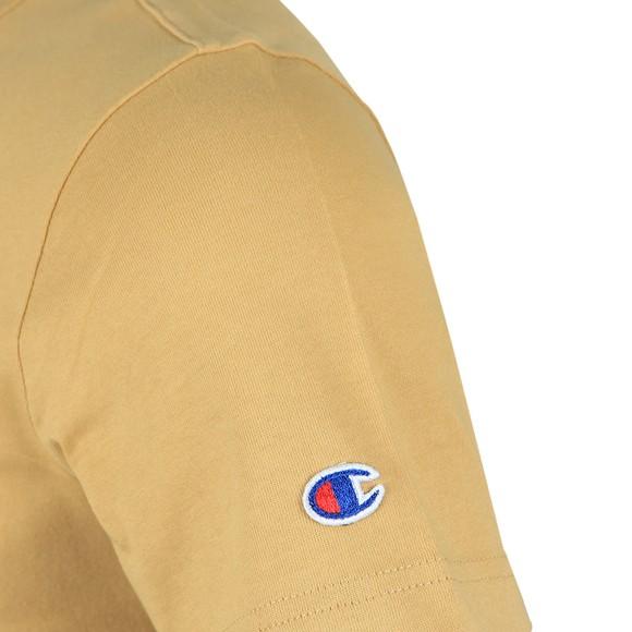 Champion Reverse Weave Mens Brown Crew Neck T-Shirt main image