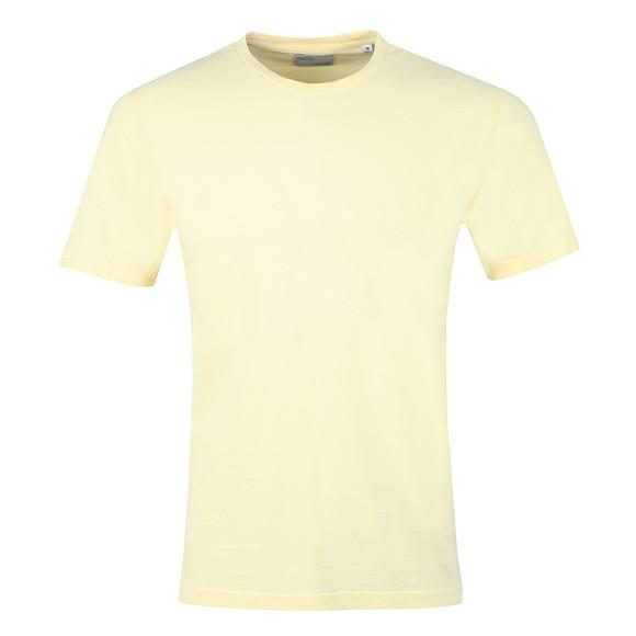 Colorful Standard Mens Yellow Organic T-Shirt