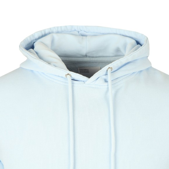 Colorful Standard Mens Blue Classic Organic Hoodie