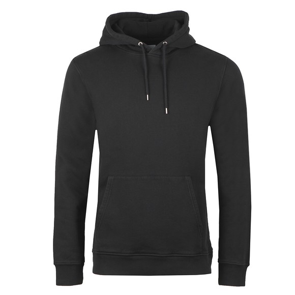 Colorful Standard Mens Black Classic Organic Hoodie