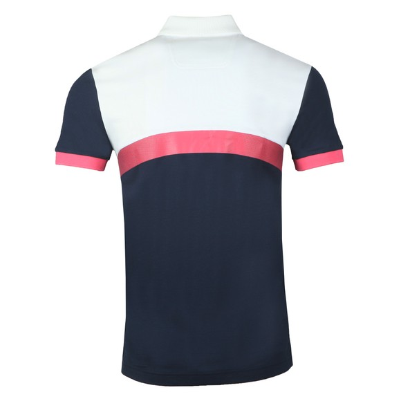BOSS Mens Blue Athleisure Paule 3 Polo Shirt main image