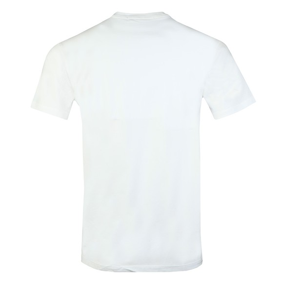 Calvin Klein Jeans Mens White Grid Insitutional T-Shirt main image