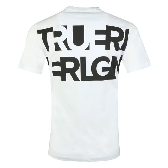 True Religion Mens White Crew Neck T-Shirt main image