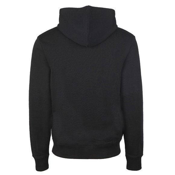 Fred Perry Mens Black Graphic Hooded Sweatshirt main image