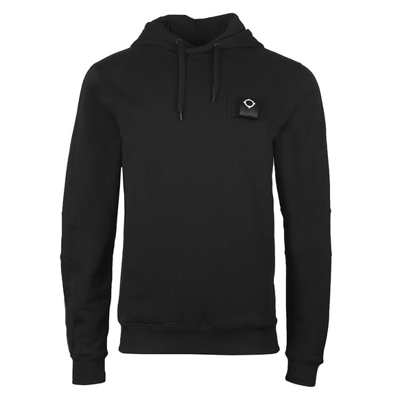 Ma.Strum Mens Black Overhead Training Hoody