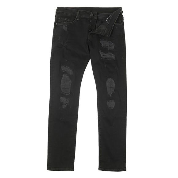 True Religion Mens Black New Rocco Superdenim Jean