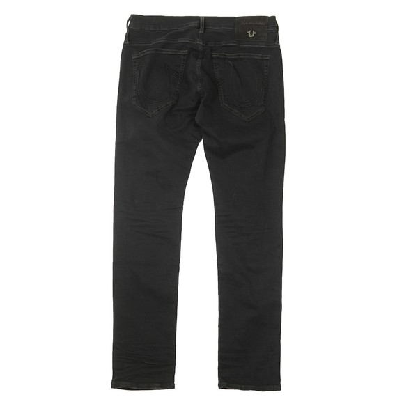 True Religion Mens Black New Rocco Superdenim Jean