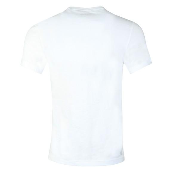 Lacoste Sport Mens White TH2042 3D Print T-Shirt main image