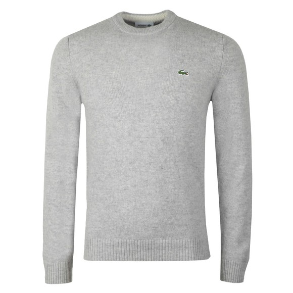 Lacoste Mens Grey AH1988 Jumper