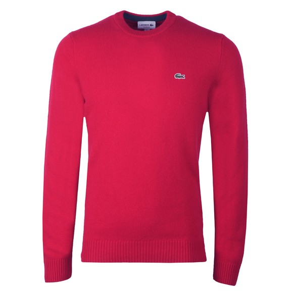 Lacoste Mens Purple AH1988 Jumper main image