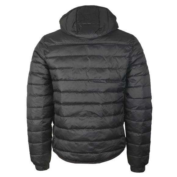 Lacoste Mens Black BH1531 Hooded Quilted Jacket main image